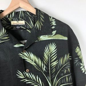 Tommy Bahama tropical silk shirt Large